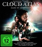 Cloud Atlas - German Blu-Ray cover (xs thumbnail)