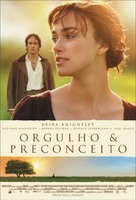 Pride & Prejudice - Brazilian Movie Poster (xs thumbnail)