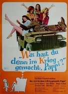 What Did You Do in the War, Daddy? - German Movie Poster (xs thumbnail)