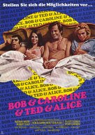 Bob & Carol & Ted & Alice - German Movie Poster (xs thumbnail)