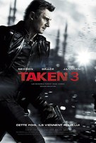 Taken 3 - French Movie Poster (xs thumbnail)