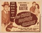 Crime Doctor's Gamble - Theatrical poster (xs thumbnail)