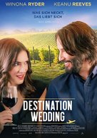 Destination Wedding - German Movie Poster (xs thumbnail)