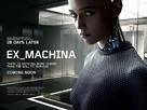 Ex Machina - British Movie Poster (xs thumbnail)