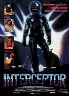 The Wraith - German Movie Poster (xs thumbnail)