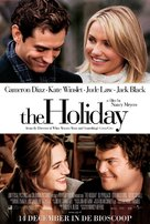 The Holiday - Dutch Movie Poster (xs thumbnail)
