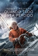 All Is Lost - Portuguese Movie Poster (xs thumbnail)