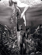 Creature from the Black Lagoon - Spanish Blu-Ray movie cover (xs thumbnail)