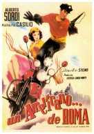 Un americano a Roma - Spanish Movie Poster (xs thumbnail)