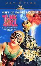 Tank Girl - German Movie Cover (xs thumbnail)