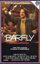 Barfly - Finnish Movie Cover (xs thumbnail)