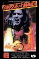 Streets of Fire - German VHS movie cover (xs thumbnail)