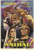 Annibale - Spanish Movie Poster (xs thumbnail)