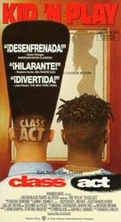 Class Act - Spanish VHS cover (xs thumbnail)