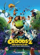 The Croods: A New Age - French Movie Poster (xs thumbnail)