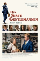 Old Man and the Gun - Danish Movie Poster (xs thumbnail)