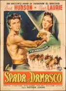 The Golden Blade - Italian Movie Poster (xs thumbnail)