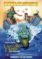 The Crocodile Hunter: Collision Course - German Movie Poster (xs thumbnail)