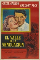The Valley of Decision - Argentinian Movie Poster (xs thumbnail)