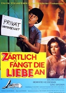 Private Lessons - German Movie Poster (xs thumbnail)