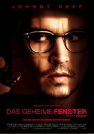 Secret Window - German Movie Poster (xs thumbnail)