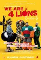 Four Lions - French Movie Poster (xs thumbnail)