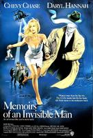 Memoirs of an Invisible Man - Movie Poster (xs thumbnail)