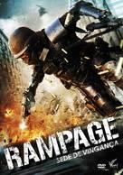 Rampage - Brazilian DVD cover (xs thumbnail)