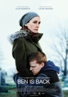 Ben Is Back - Swedish Movie Poster (xs thumbnail)