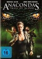 Anaconda 4: Trail of Blood - German Movie Cover (xs thumbnail)