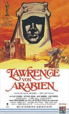 Lawrence of Arabia - German VHS movie cover (xs thumbnail)