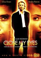 Close My Eyes - DVD movie cover (xs thumbnail)