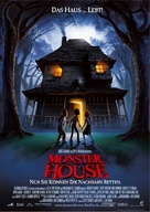 Monster House - German Movie Poster (xs thumbnail)