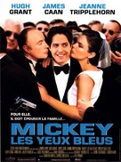 Mickey Blue Eyes - French Movie Poster (xs thumbnail)