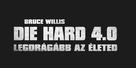 Live Free or Die Hard - Hungarian Logo (xs thumbnail)