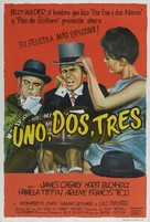 One, Two, Three - Argentinian Movie Poster (xs thumbnail)