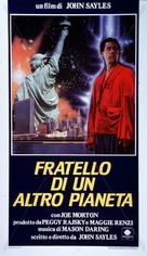 The Brother from Another Planet - Italian Movie Poster (xs thumbnail)