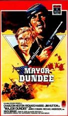 Major Dundee - Spanish Movie Cover (xs thumbnail)