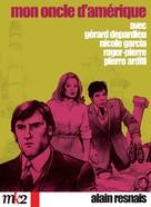 Mon oncle d'Amérique - French DVD cover (xs thumbnail)
