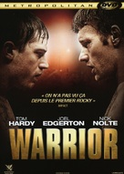 Warrior - French DVD movie cover (xs thumbnail)