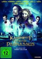 The Imaginarium of Doctor Parnassus - German DVD cover (xs thumbnail)