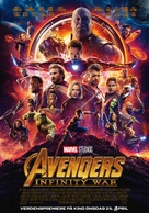 Avengers: Infinity War - Norwegian Movie Poster (xs thumbnail)