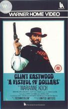 Per un pugno di dollari - British VHS cover (xs thumbnail)