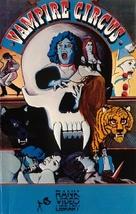 Vampire Circus - British VHS movie cover (xs thumbnail)