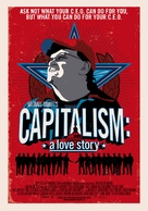 Capitalism: A Love Story - Swiss Movie Poster (xs thumbnail)
