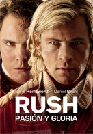 Rush - Argentinian Movie Cover (xs thumbnail)