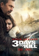 Three Days to Kill - Swiss Movie Poster (xs thumbnail)