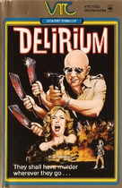 Delirium - Swedish VHS cover (xs thumbnail)