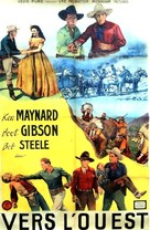 Westward Bound - French Movie Poster (xs thumbnail)