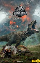 Jurassic World: Fallen Kingdom - Hungarian Movie Poster (xs thumbnail)